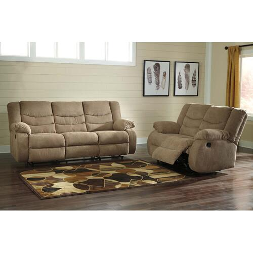 Signature Design By Ashley - Tulen Reclining Sofa - Mocha