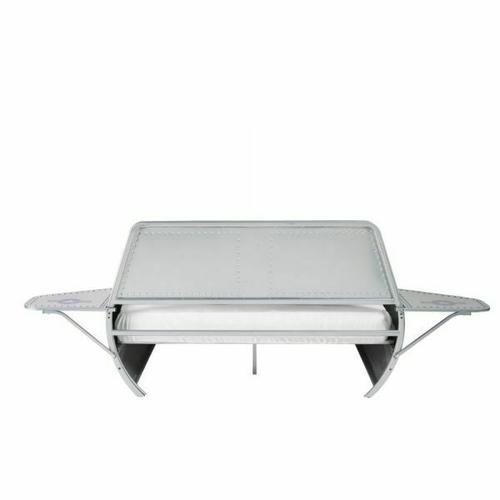 ACME Aeronautic Full Bed - 36105F - Silver