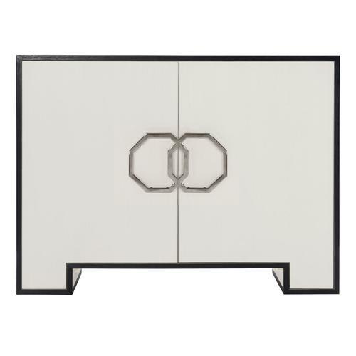 Bernhardt - Silhouette Door Chest in Eggshell (307)