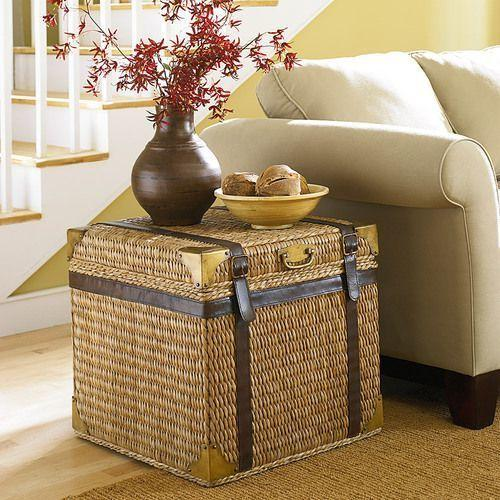 Boracay Trunk End Table