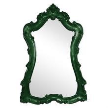 View Product - Lorelei Mirror - Glossy Hunter Green