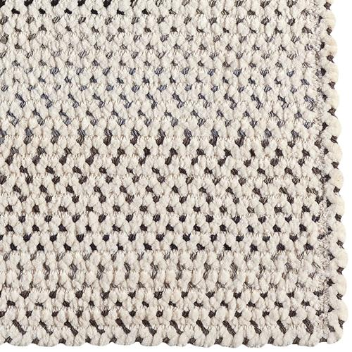 Dramatic Static Foggy Day Braided Rugs (Custom)
