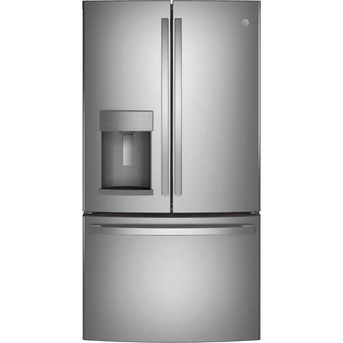 Product Image - GE® ENERGY STAR® 27.7 Cu. Ft. Fingerprint Resistant French-Door Refrigerator