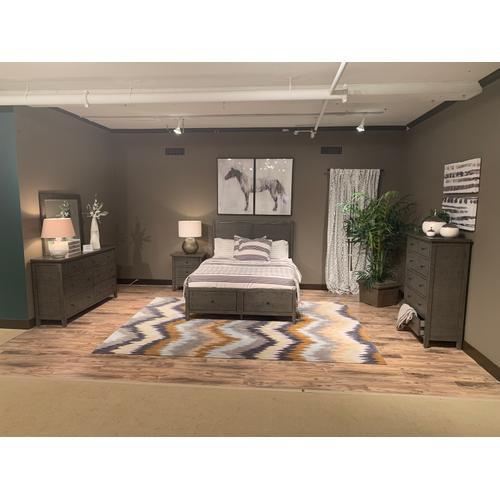 Jofran - Maxton 5 Piece Queen Panel Bedroom Set: Bed, Dresser, Mirror, Chest, Nightstand