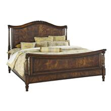 Panel Sleigh Cal King Bed