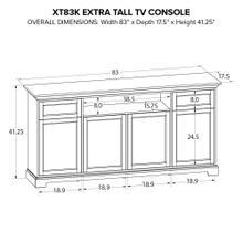 XT83K Extra Tall Custom TV Console