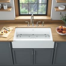 See Details - Delancey 36x22-inch Apron Sink  American Standard - Brilliant White