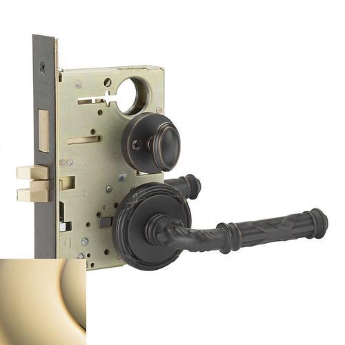 Baldwin - Lifetime Polished Brass Fenwick Sectional Privacy Set