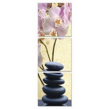 See Details - Modrest Yoga Stones 3-Panel Photo On Canvas