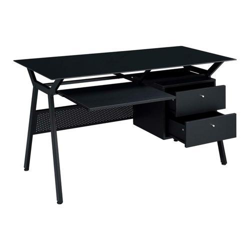 Coaster - Casual Black Computer Desk