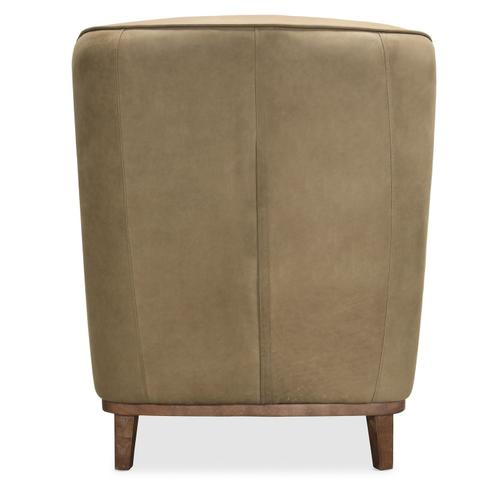 Living Room Glover Leather Club Chair