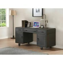ACME Actaki Desk - 92430 - Sandy Gray