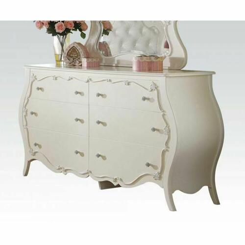ACME Edalene Dresser - 30514 - Pearl White
