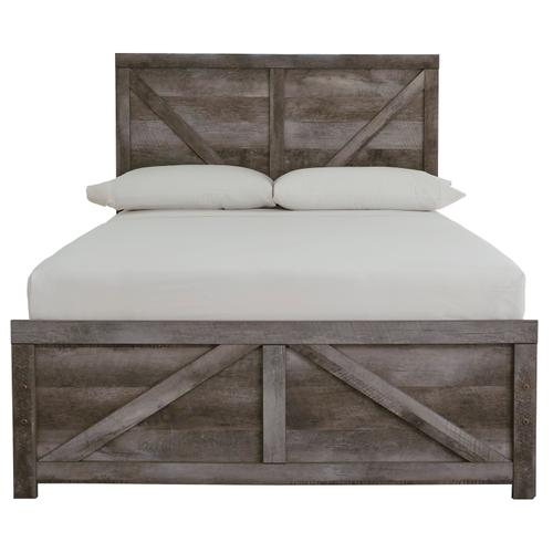 Wynnlow - Gray 2 Piece Bed Set (Full)