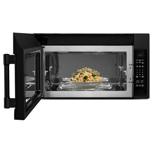 Over-The-Range Microwave With Interior Cooking Rack - 2.0 Cu. Ft. Black