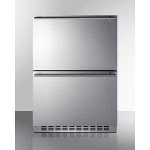 "Summit24"" Wide 2-drawer Refrigerator-freezer"