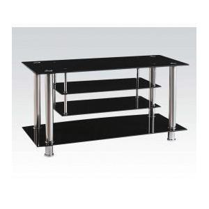 Acme Furniture Inc - TV Stand W/bk Gl (1pc/1ctn)