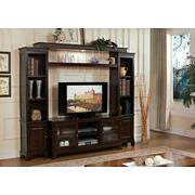 ACME Halden Entertainment Center - Bridge & Shelf - 91090 - Merlot Product Image