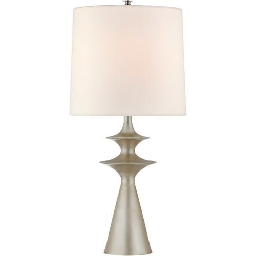 Visual Comfort - AERIN Lakmos 31 inch 100.00 watt Burnished Silver Leaf Table Lamp Portable Light, Large