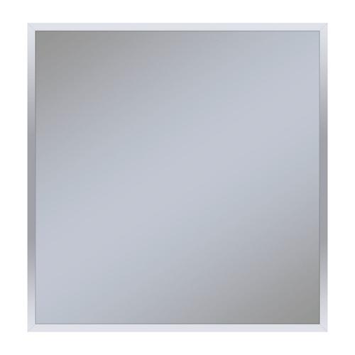 "Profiles 29-1/8"" X 29-7/8"" X 3/4"" Framed Mirror In Chrome"
