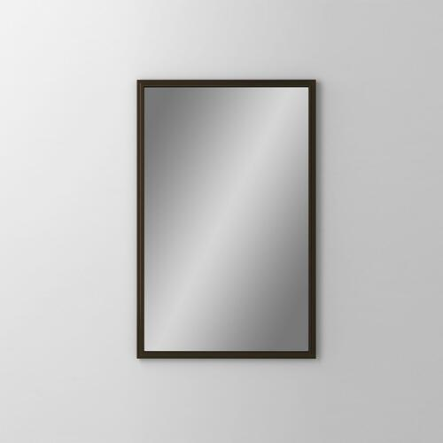 "Main Line 19-1/8"" X 29-7/8"" X 1-5/8"" Rosemont Framed Mirror In Brushed Bronze"