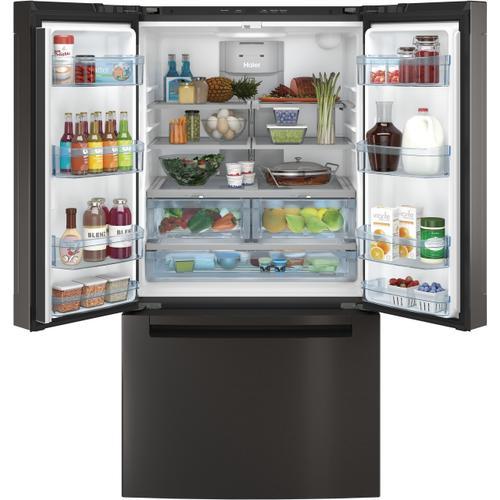 Haier - ENERGY STAR® 27.0 Cu. Ft. French-Door Refrigerator