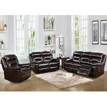 ACME Flavie Loveseat (Power Motion) - 52006 - Leather Match