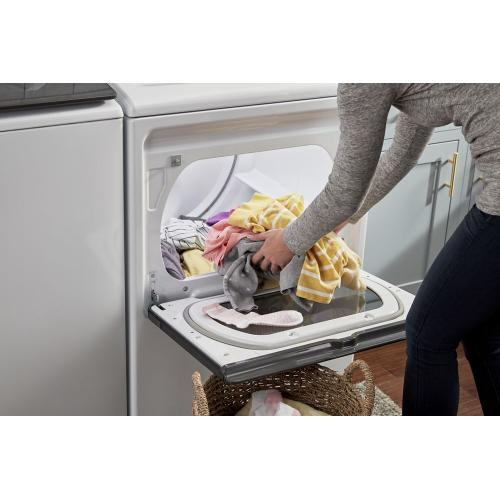 Whirlpool Canada - 7.4 cu. ft. Top Load Electric Dryer with Intuitive Controls