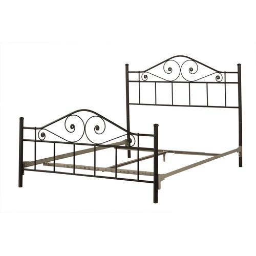 Hillsdale Furniture - Harrison King Bed With Rails - Textured Black
