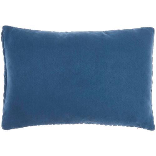 "Life Styles Et299 Blue 14"" X 20"" Throw Pillow"