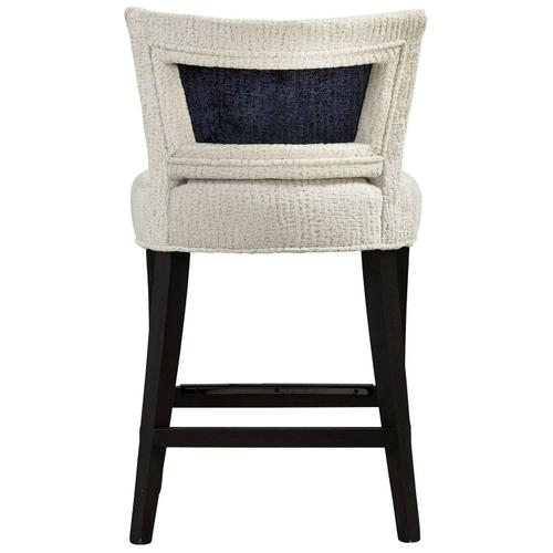 Giles Counter Stool in Midnight Black