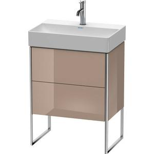 Vanity Unit Floorstanding Compact, Cappuccino High Gloss (lacquer)