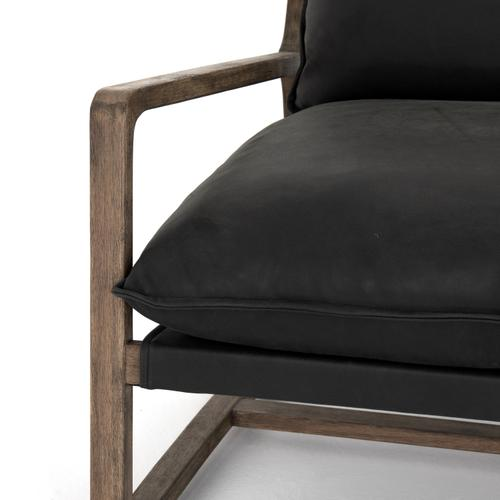 Umber Black Cover Ace Chair
