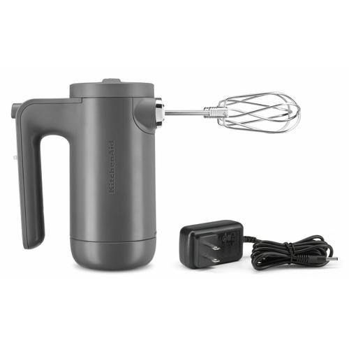 Gallery - Cordless 7 Speed Hand Mixer - Matte Charcoal Grey