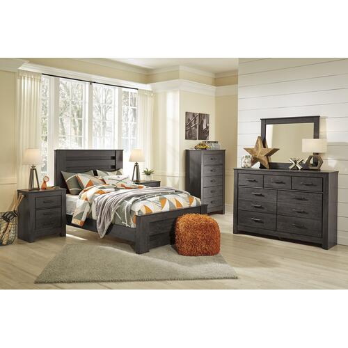 Brinxton - Charcoal 3 Piece Bed Set (Full)