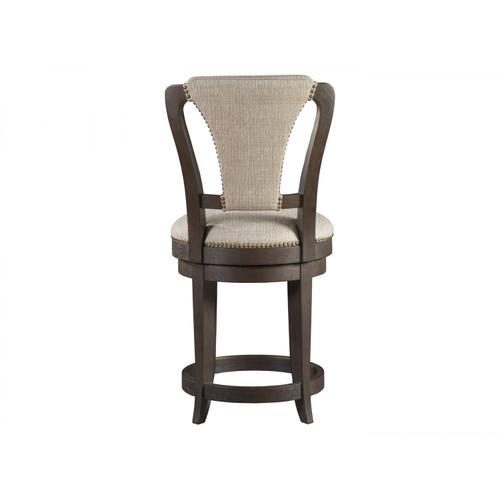 Verbatim Upholstered Swivel Counter Stool