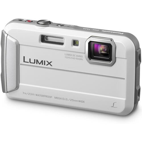 LUMIX DMC-TS25 Active Lifestyle Tough Camera - White
