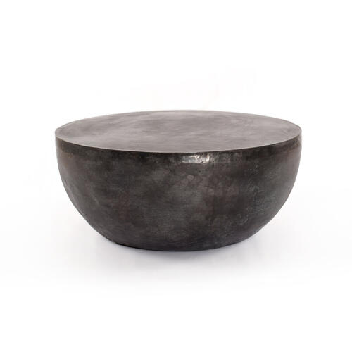 Basil Outdoor Coffee Table-aged Grey