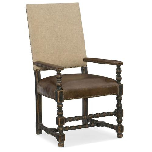 Dining Room Hill Country Comfort Upholstered Arm Chair - 2 per carton/price ea
