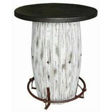 See Details - White Scrape Barrel Bar