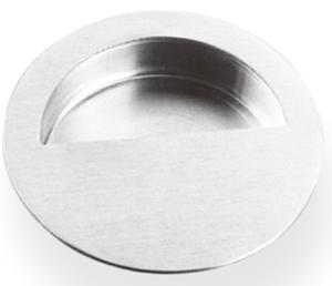 Round Pocket/Cup Pull w/Semi-circular Opening, US32D Product Image