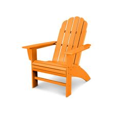 Tangerine Vineyard Curveback Adirondack Chair