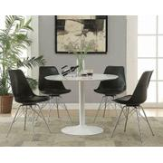 Lowry Contemporary Black Dining Chair Product Image