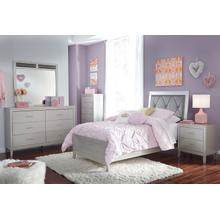 Olivet - Silver 2 Piece Bed (Twin)