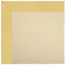 "Creative Concepts-Beach Sisal Canvas Canary - Rectangle - 24"" x 36"""
