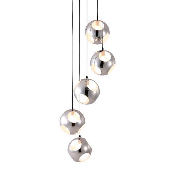 Meteor Shower Ceiling Lamp Chrome