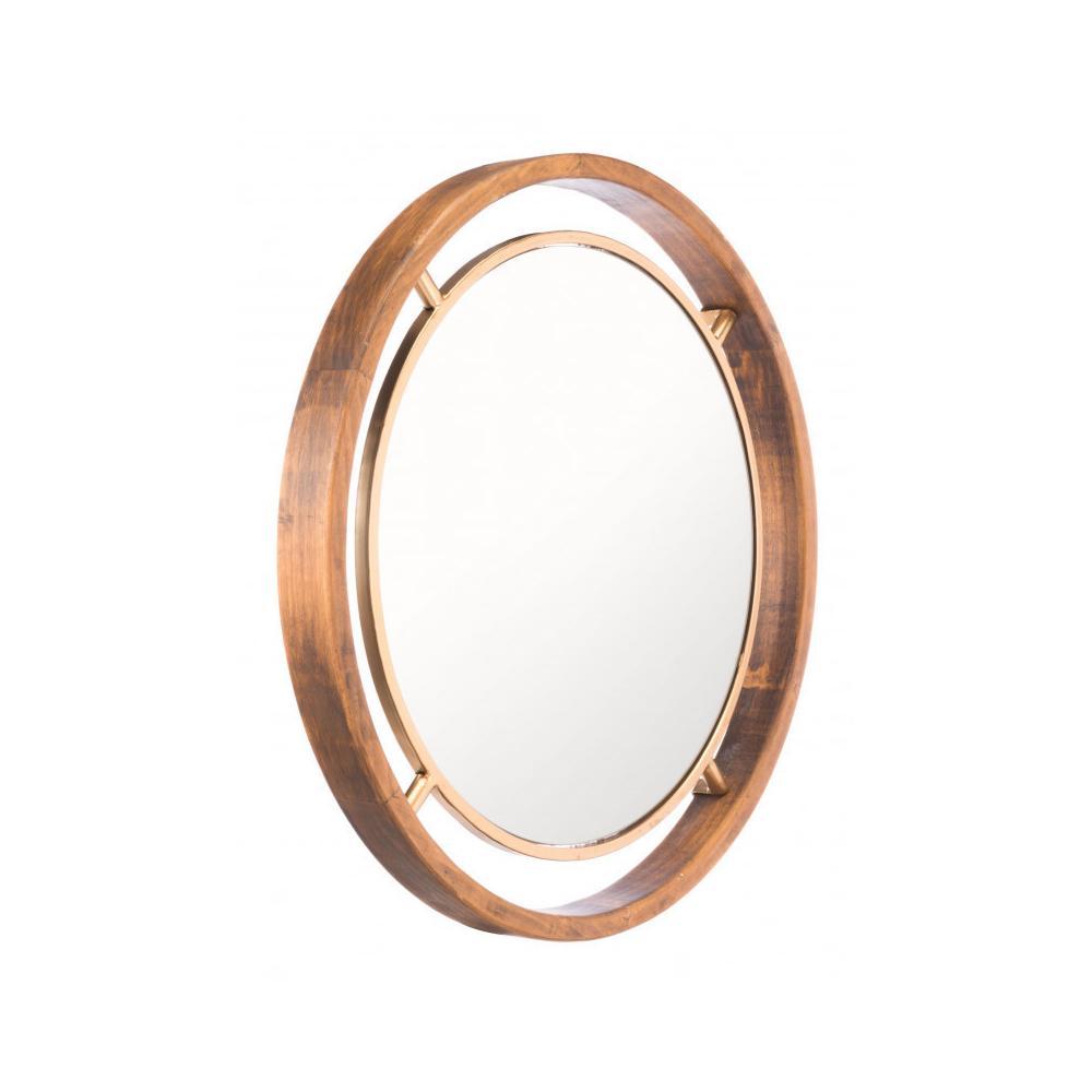 See Details - Round Mirror Gold