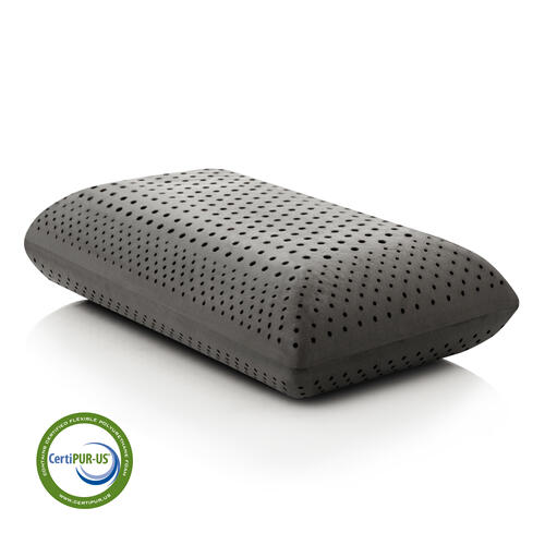 Zoned Dough® + Bamboo Charcoal Queen Mid Loft