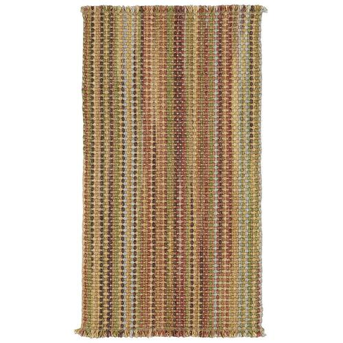 "Hampton Madras - Vertical Stripe Rectangle - 24"" x 36"""