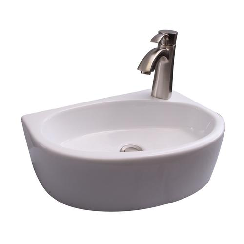 Albion Wall-Hung Basin - Single-Hole Right